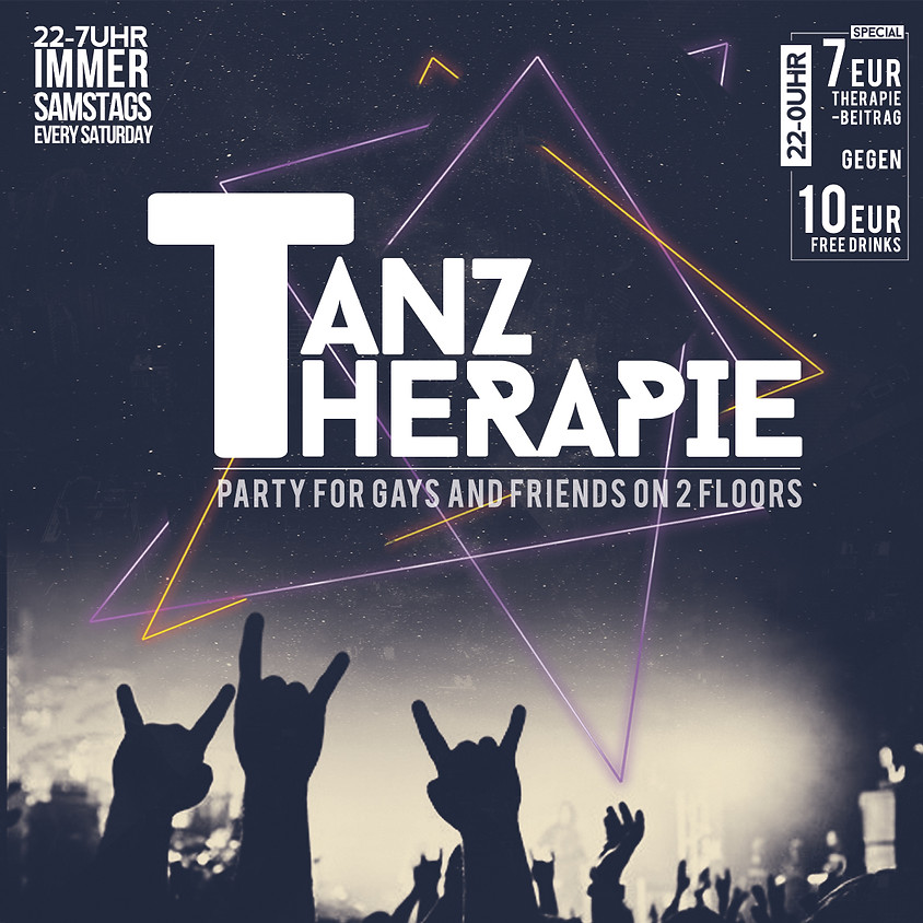TANZTHERAPIE | jeden Samstag | every saturday (exept at special events)