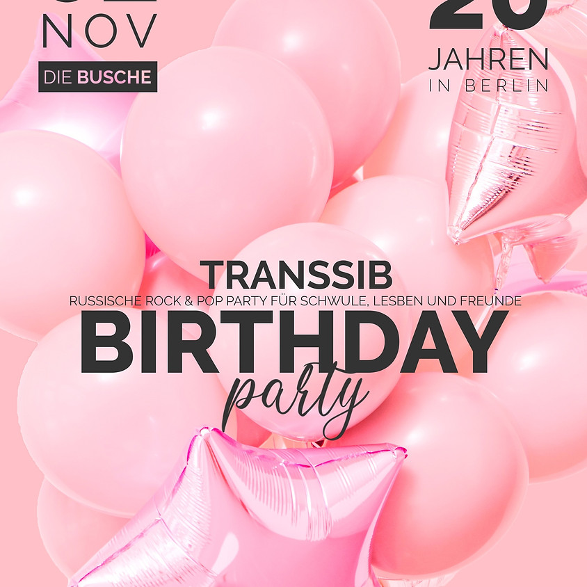 Transsib - the 20th birthday party