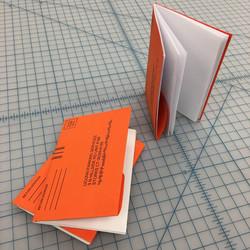 parking ticket sketch book