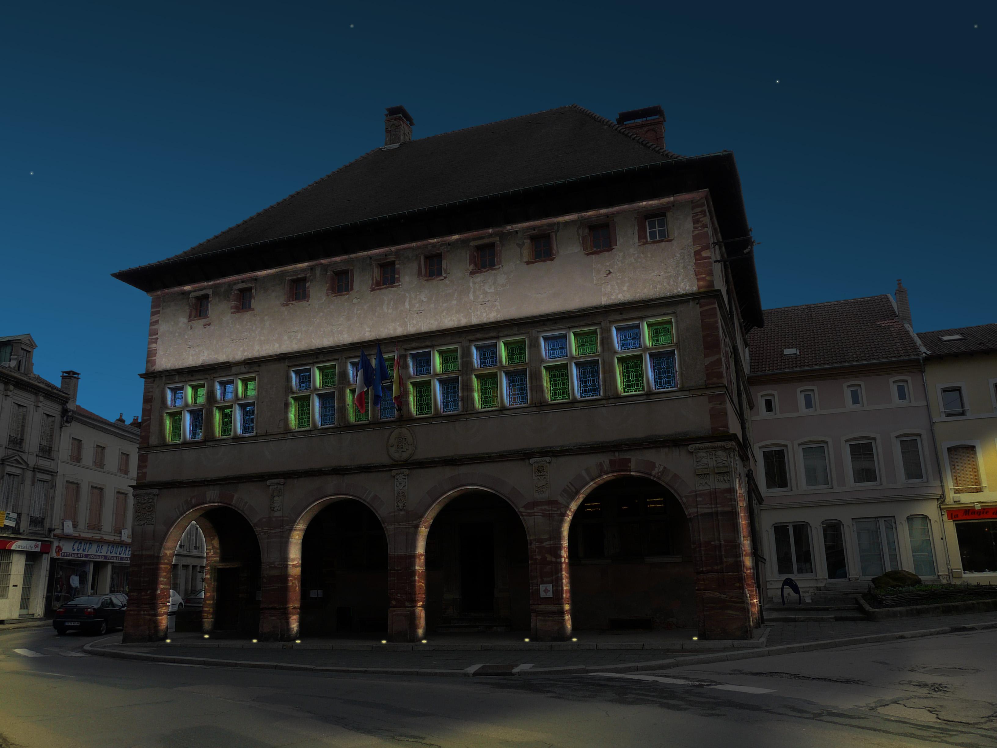 Plan lumière / Hôtel de ville