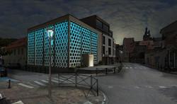 MEV projetée / Synagogue