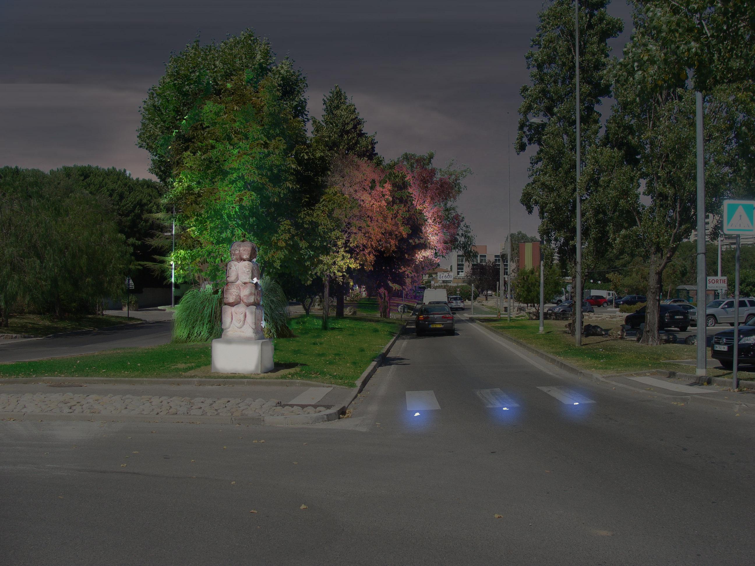 MEV projetée / Route de Fréjus