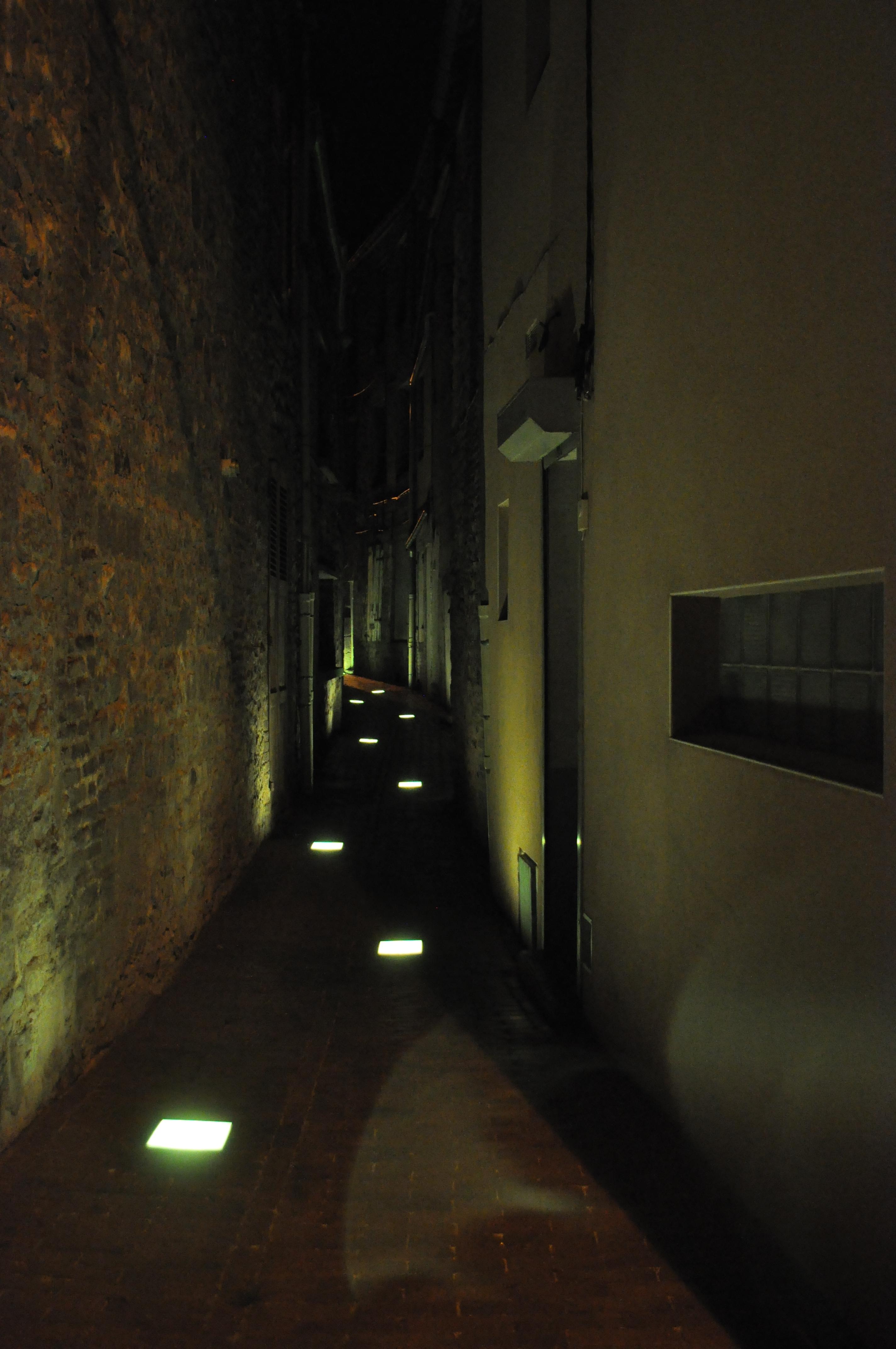 Cheminement lumineux