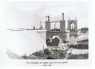 Construction dès 1912