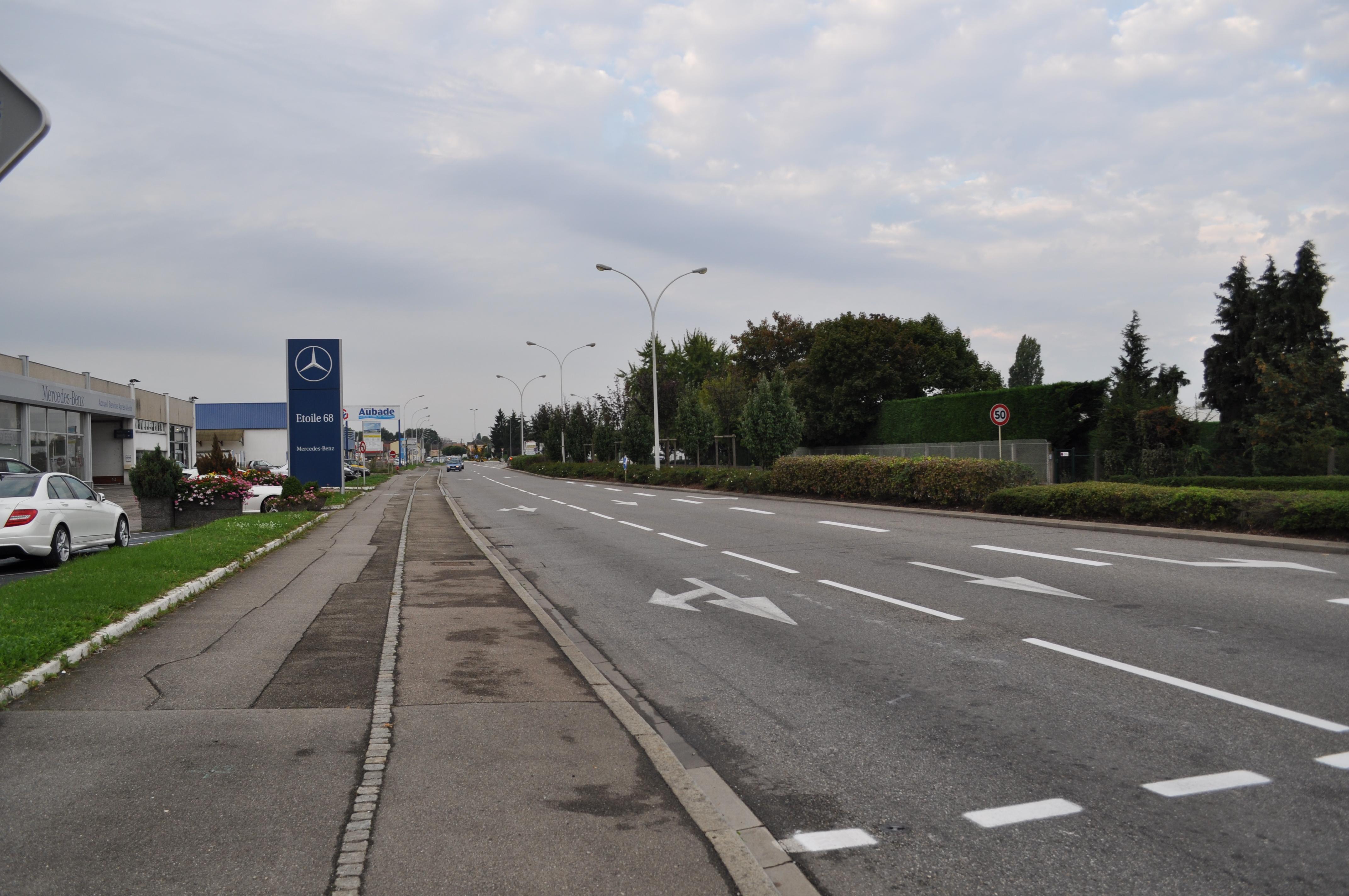 Zone d'activité / avenue de Fribourg