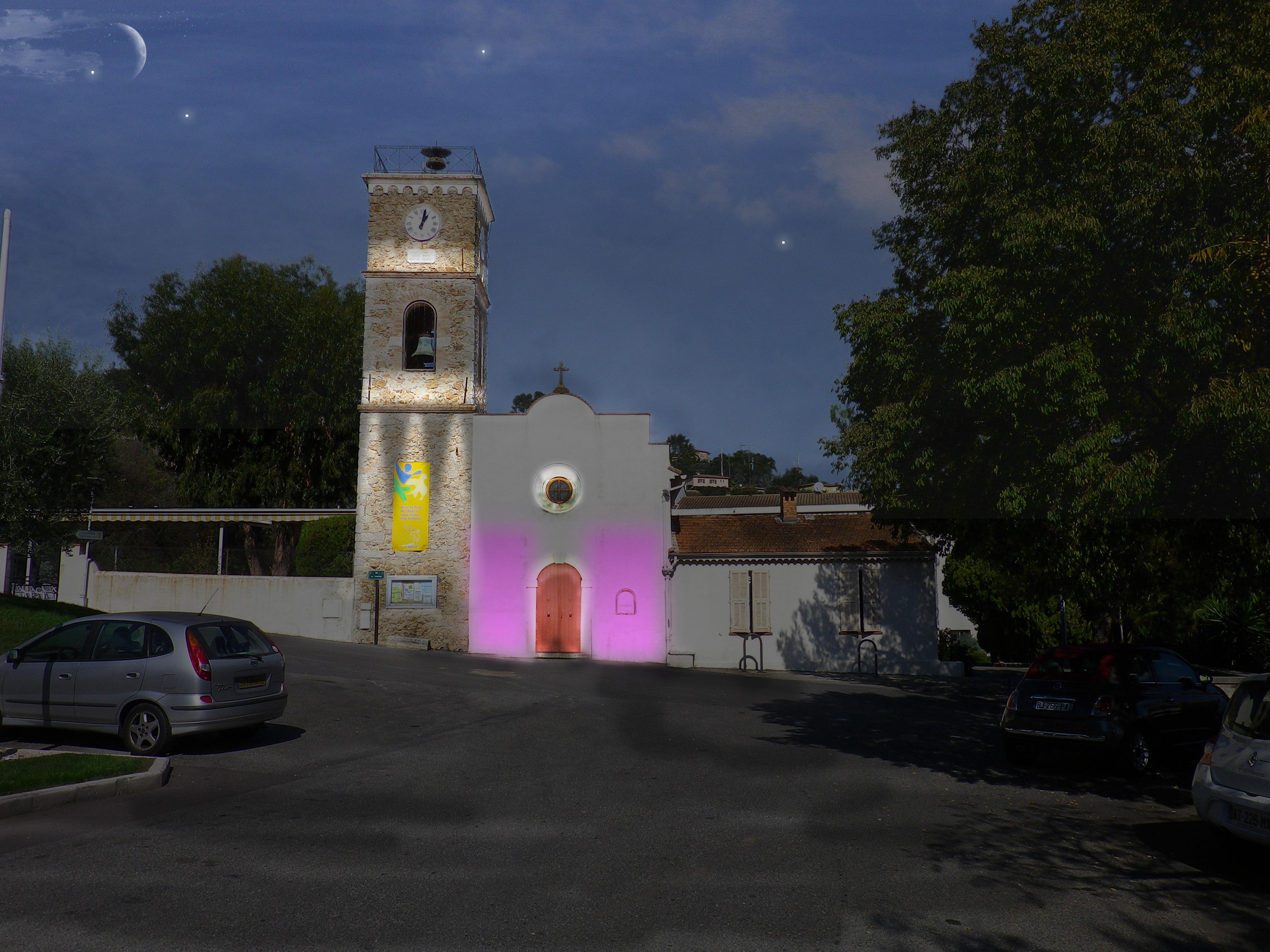 MEV projetée / Eglise Saint-Pons