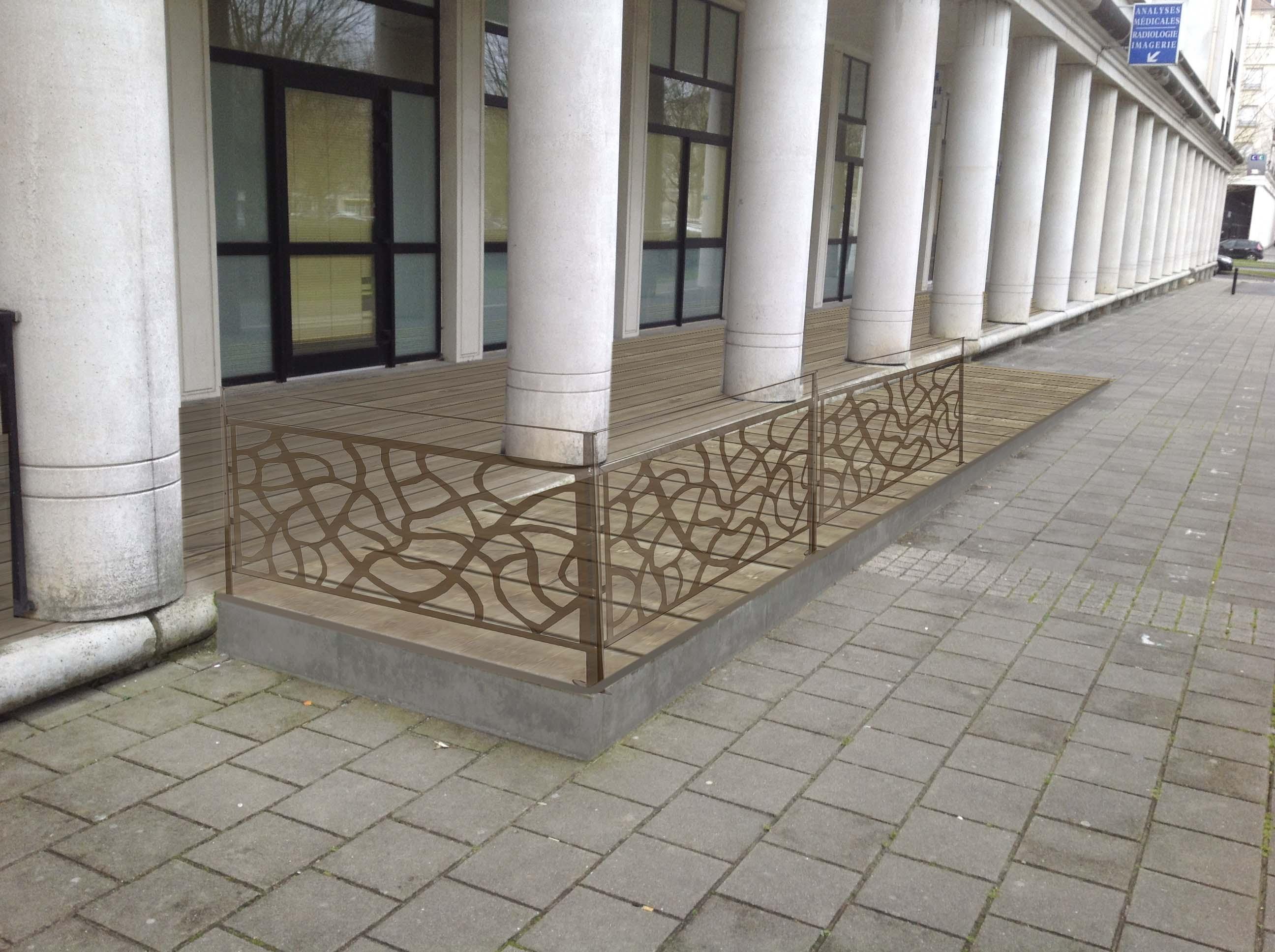 Aménagement projetée / Villa Florian