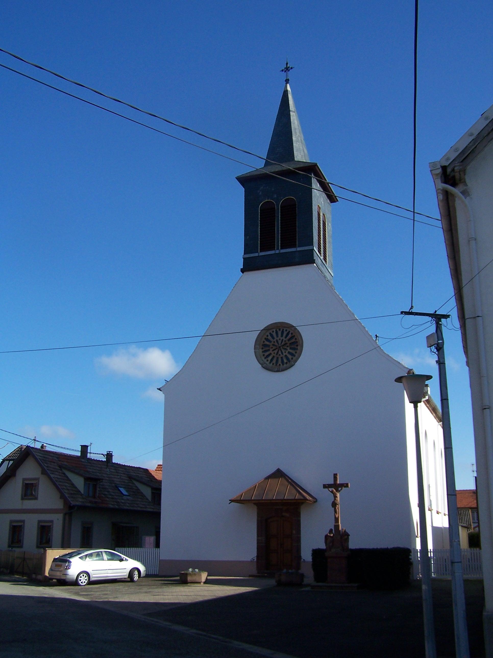 Eglise luthérienne / Hoerdt