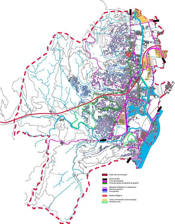 Typologie des voies de circulation
