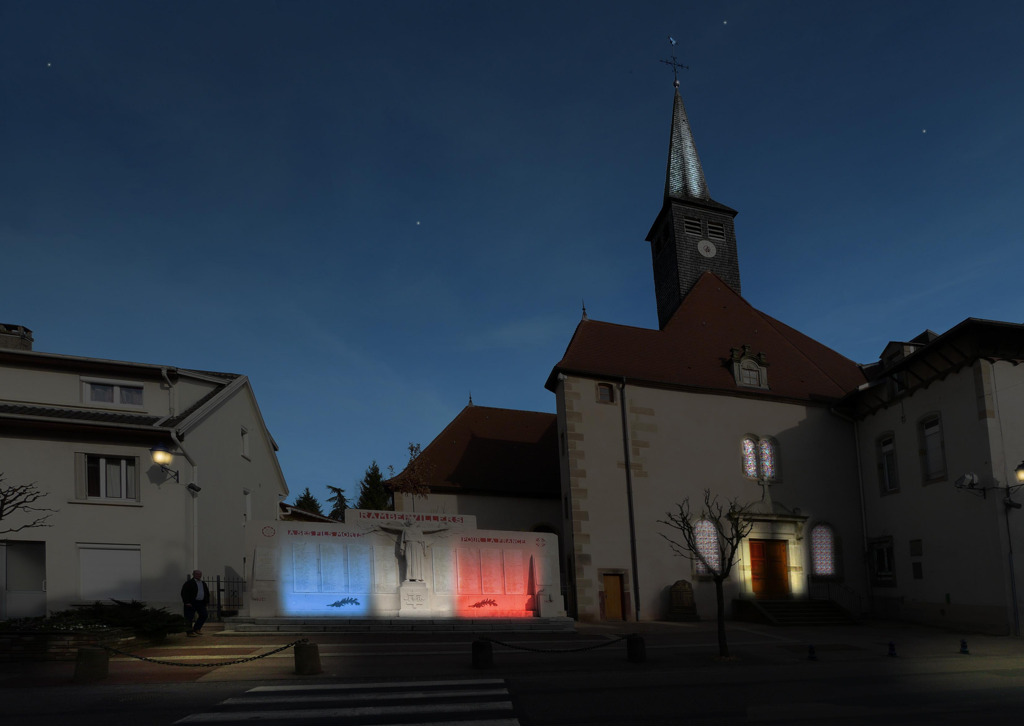 Plan lumière / Chapelle des Arts