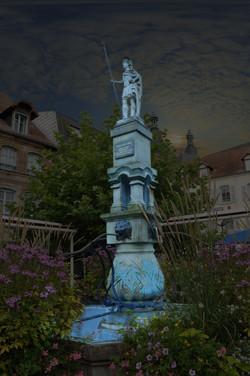 MEV projetée / Fontaine