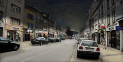 rue Hirschauer / photomontage