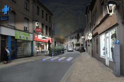rue Poincaré / photomontage