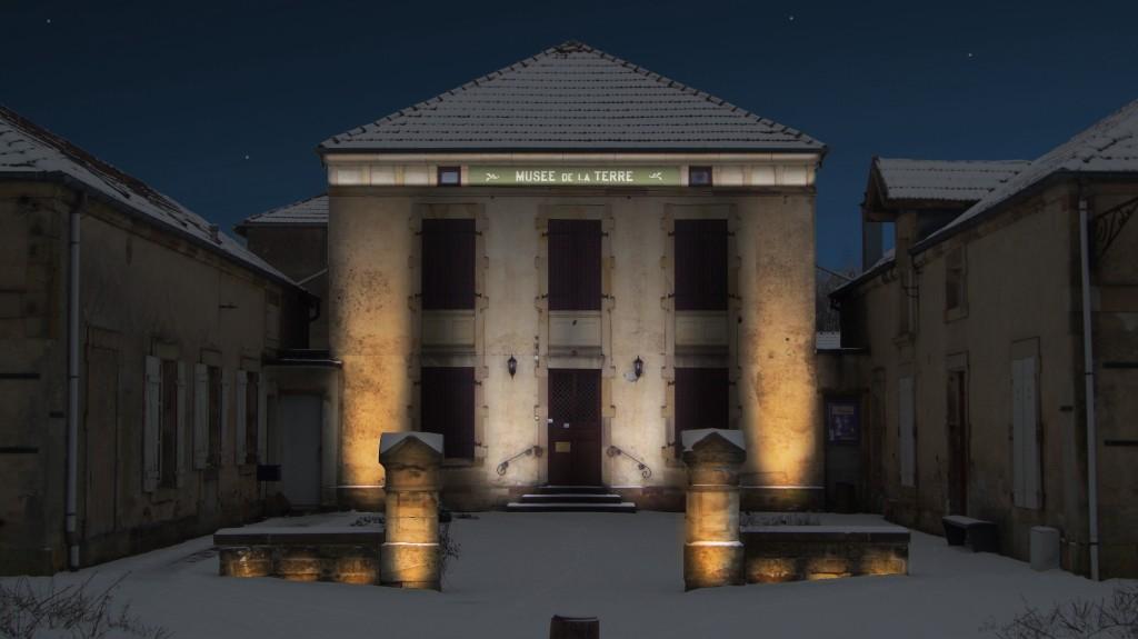 Plan lumière / Musée de la Terre