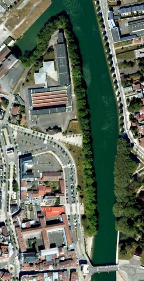 situation / Porte Chaussée et pont