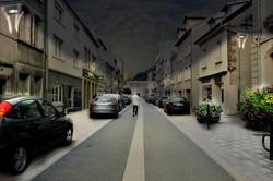 rue des Américains / photomontage