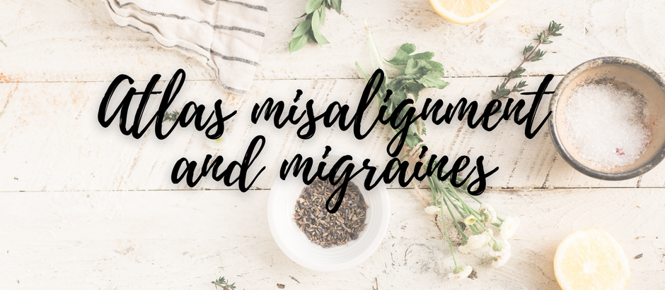 Atlas misalignment as a possible cause for headaches and migraines