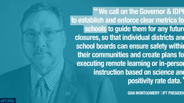 IFT Urges Immediate Action and Clear Metrics to Keep Schools Safe