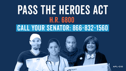 Support the HEROES Act
