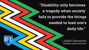 Raising awareness of all disabilities this July during Disability Pride Month