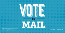 Stay safe: Vote by mail!