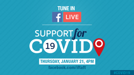 Learn about IFT's new COVID Tracker!