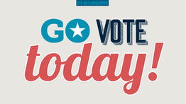 Today is Election Day!
