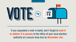 Stay safe and vote by mail