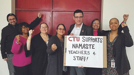 Teachers and staff at two more charter schools join IFT