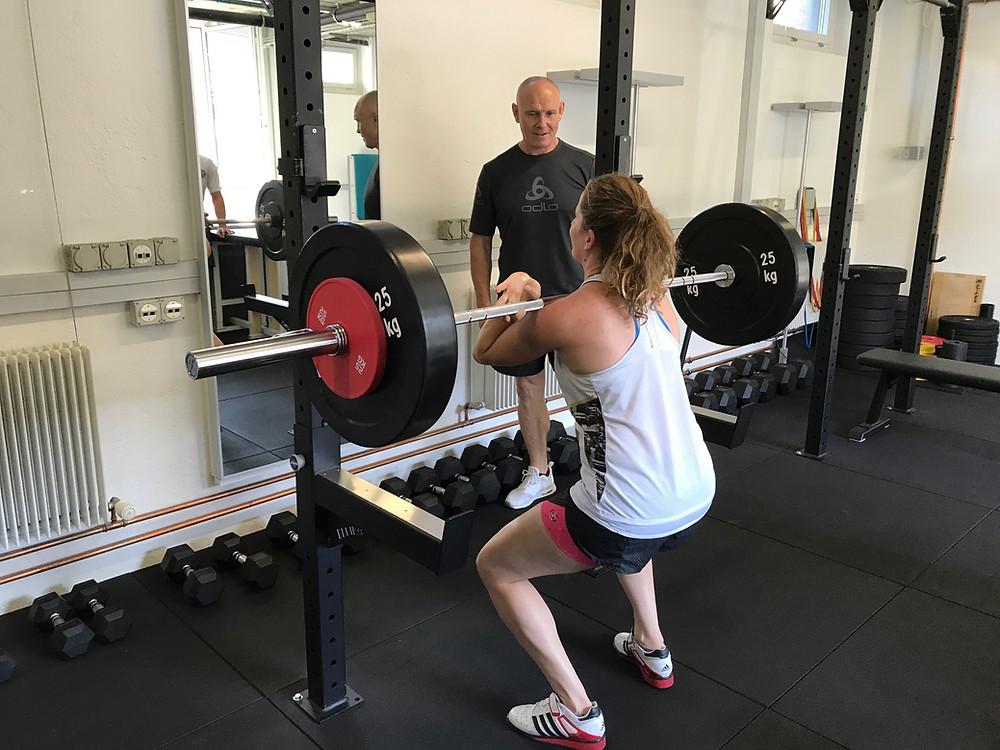 Patrizia Kummer, Shinbudō Training