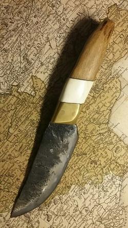 Couteau droit mitre