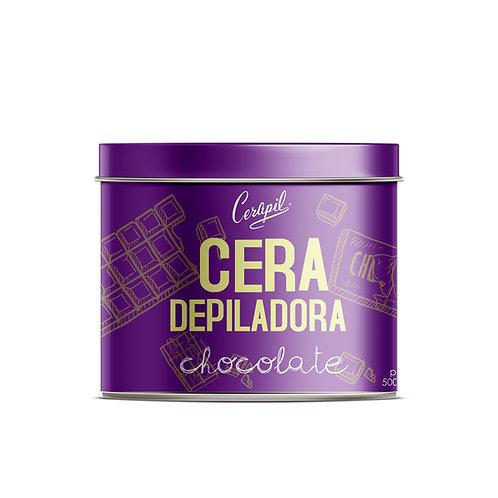 Cera Depiladora Chocolate 500gr.