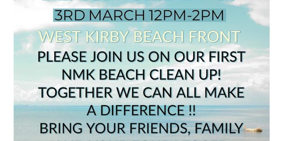 Beach Clean Up - West Kirby