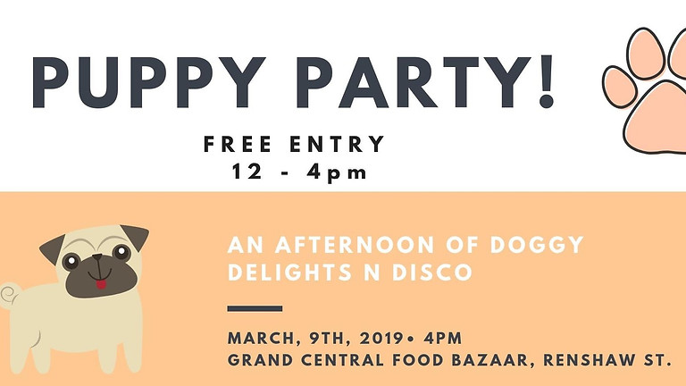 CANCELLED - Puppy Party!