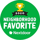 Voted 2020 Nextdoor Neighborhood Favorite