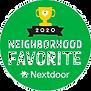Voted 2020 Nextdoor Neighborhod Favorite