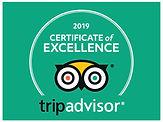 2019 Tripadvisor's Certificate of Excellence