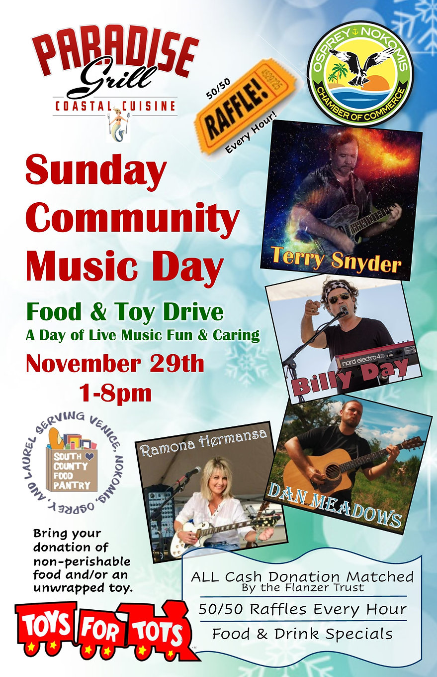 poster for Sunday Community Music Day.jp