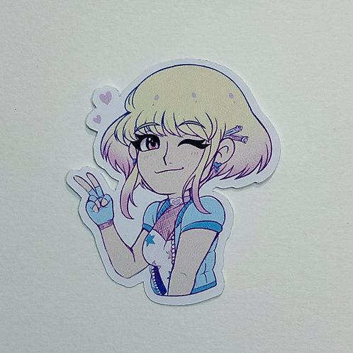 Sugarpop Girl Sticker
