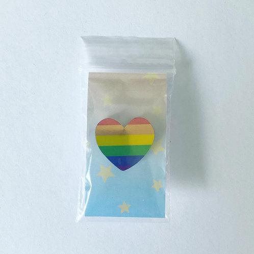 Pride Heart Pin