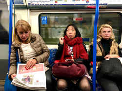 Three Women in thought