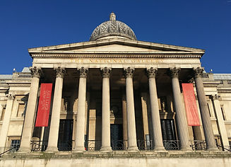 National Gallery Trafalgar Square close-