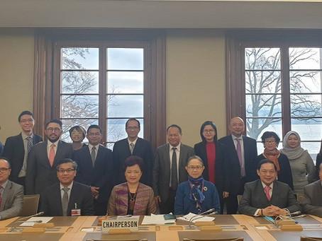 ไทยในฐานะประธานคณะกรรมการอาเซียน ณ เจนีวาภายใต้ WTO
