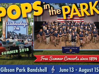 Great Falls Symphony Sponsors Municipal Band July 18