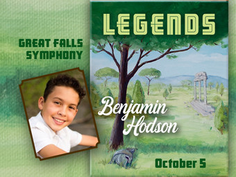 The Great Falls Symphony Presents Legends