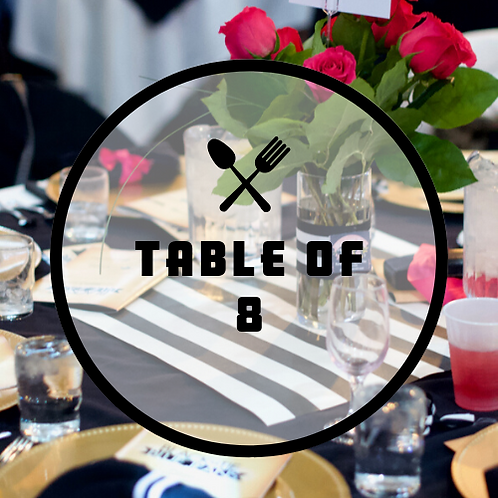 Black Tie & Blue Jeans: Table of 8