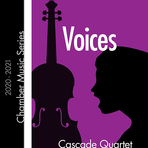 Voices - Cascade Quartet