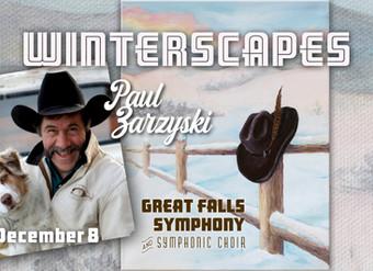 Great Falls Symphony Orchestra & Choir premiere a NEW WORK with Lyrics by Paul Zarzyski at Upcom