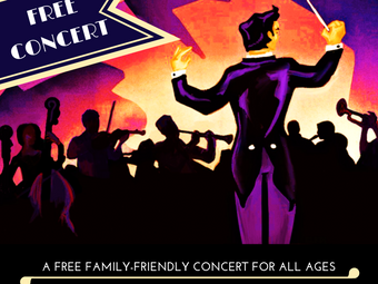 """The Great Falls Symphony FAMILY MATINEE series presents """"Tall Tales"""" - a free concert"""