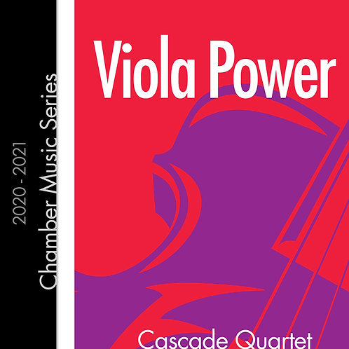 Viola Power - Cascade Quartet
